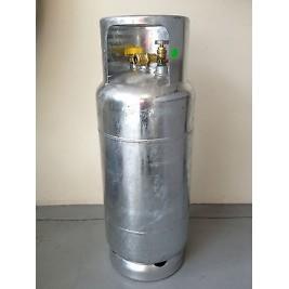 18Kg Manchester Galvanised LPG Forklift Cylinder Fully Valved