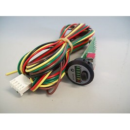 Peel LPG System Round 7 led Dash Gauge and switch