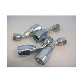 5/16 45 DEG Angle flare to 8mm reusable fitting