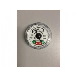 Rochester Snap on Forklift Cylinder Contents Gauge Dial