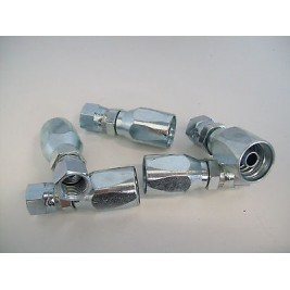 """Reusable LPG Straight Fitting Female 5/16"""" sae to suit 8mm Flexible Service Line"""