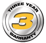 three year warranty