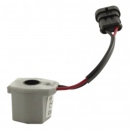 Vialle LPG Converter Primer Solenoid with plug to suit Ford  BA Dedicated