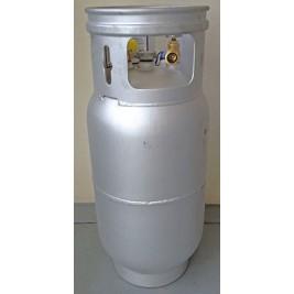 15Kg Manchester Aluminium LPG Forklift Cylinder Fully Valved