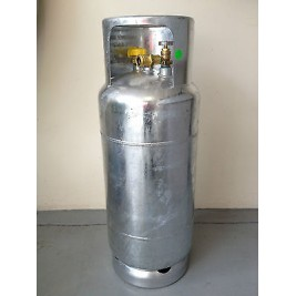 18Kg Manchester Powder Coated LPG Forklift Cylinder Fully Valved