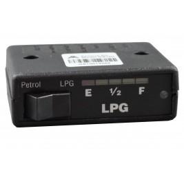Under Dash 2 Position Change Over Switch 5 Led 0-90 Ohm LPG Tank Gauge