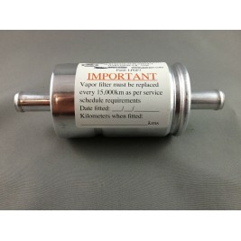 Vapour Injection System Inline Filter 12mm
