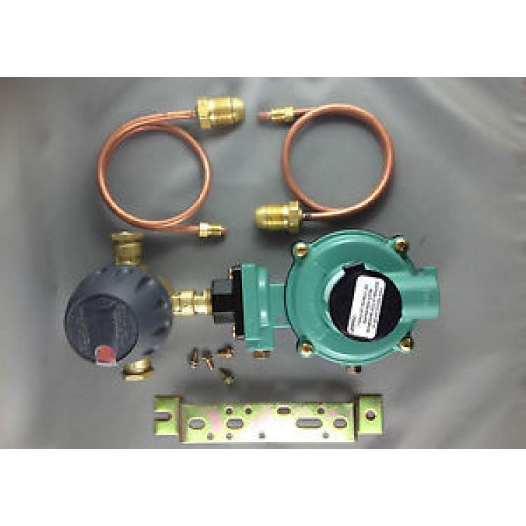 Domestic, Cabin LP Gas Regulator 500Mj, Automatic Change