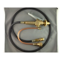 LPG Filler Gun & Hose with Automotive LPG Tank Decanting Fitting