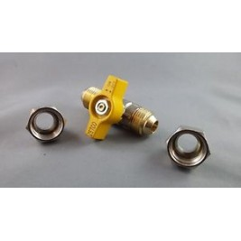 "LPG Ball Valve Gas Cock1/2"" BSP"