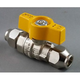 "LPG Ball Valve Gas Cock3/8"" BSP"
