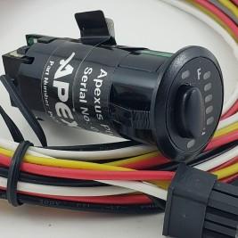 Apexus PG200-b-2 Series LPG Indash Switch Gauge