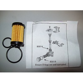 LPGas Lockoff  Filter kit, for AMR Manufacturing GL20 90 DEG Lock Off