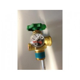 9kg Barbarque Bottle Valve with gauge